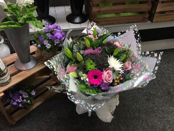 Aqua Bouquet from Urban Flowers Southport