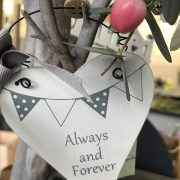 Always & Forever Wedding Hearts/Pieces £3.00