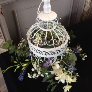 Birdcage flowers from 20