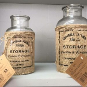 Storage bottles from £4