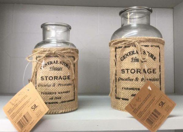 Storage bottles from £4