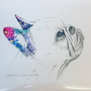 French Bulldog Lola Design Card £2.95